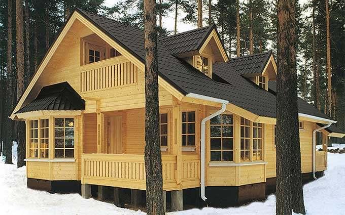 деревянные дома под ключ фото